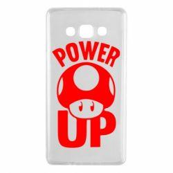 Чехол для Samsung A7 2015 Power Up гриб Марио