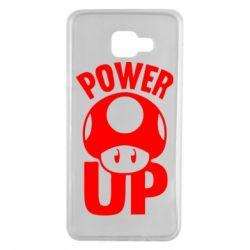 Чохол для Samsung A7 2016 Power Up Маріо гриб