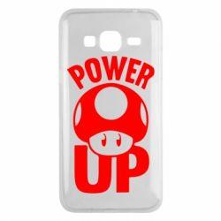 Чохол для Samsung J3 2016 Power Up Маріо гриб