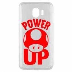 Чехол для Samsung J4 Power Up гриб Марио
