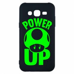 Чехол для Samsung J5 2015 Power Up гриб Марио