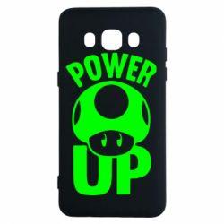 Чехол для Samsung J5 2016 Power Up гриб Марио