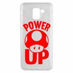 Чехол для Samsung J6 Power Up гриб Марио