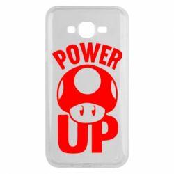 Чохол для Samsung J7 2015 Power Up Маріо гриб