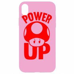 Чохол для iPhone XR Power Up Маріо гриб