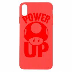 Чехол для iPhone Xs Max Power Up гриб Марио