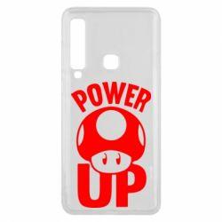Чехол для Samsung A9 2018 Power Up гриб Марио
