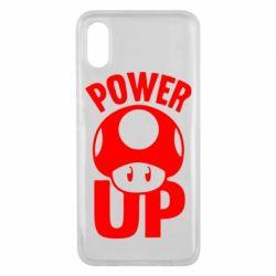 Чехол для Xiaomi Mi8 Pro Power Up гриб Марио