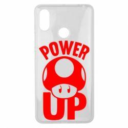 Чехол для Xiaomi Mi Max 3 Power Up гриб Марио