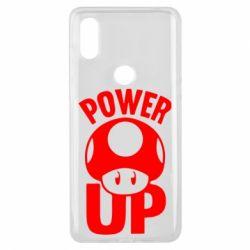 Чехол для Xiaomi Mi Mix 3 Power Up гриб Марио