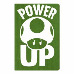 Блокнот А5 Power Up гриб Марио