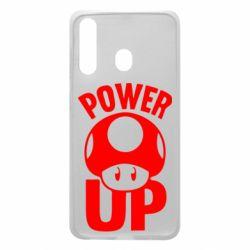 Чехол для Samsung A60 Power Up гриб Марио
