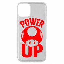 Чехол для iPhone 11 Power Up гриб Марио