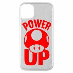 Чехол для iPhone 11 Pro Power Up гриб Марио