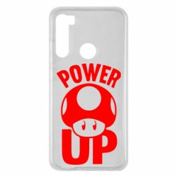 Чохол для Xiaomi Redmi Note 8 Power Up Маріо гриб