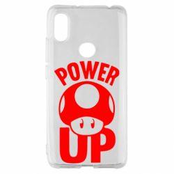 Чохол для Xiaomi Redmi S2 Power Up Маріо гриб