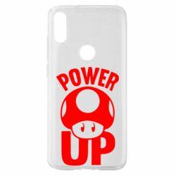 Чехол для Xiaomi Mi Play Power Up гриб Марио