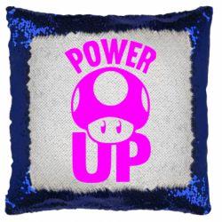 Подушка-хамелеон Power Up гриб Марио