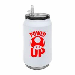 Термобанка 350ml Power Up гриб Марио