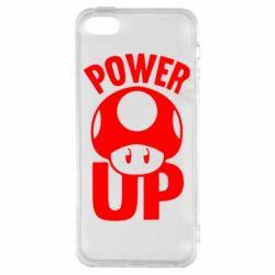 Чехол для iPhone5/5S/SE Power Up гриб Марио