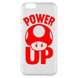 Чехол для iPhone 6/6S Power Up гриб Марио