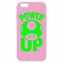 Чехол для iPhone 6 Plus/6S Plus Power Up гриб Марио