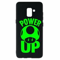 Чохол для Samsung A8+ 2018 Power Up Маріо гриб