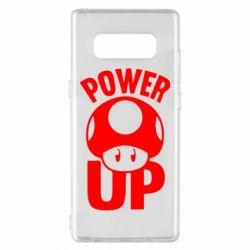 Чехол для Samsung Note 8 Power Up гриб Марио