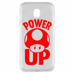 Чехол для Samsung J3 2017 Power Up гриб Марио