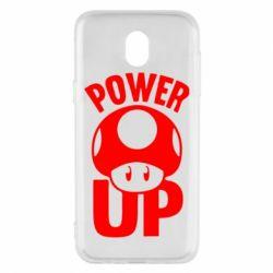 Чехол для Samsung J5 2017 Power Up гриб Марио