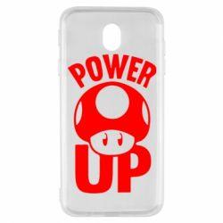 Чехол для Samsung J7 2017 Power Up гриб Марио