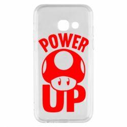 Чехол для Samsung A3 2017 Power Up гриб Марио