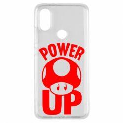 Чехол для Xiaomi Mi A2 Power Up гриб Марио