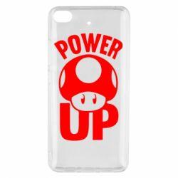 Чехол для Xiaomi Mi 5s Power Up гриб Марио
