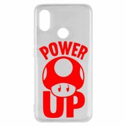 Чехол для Xiaomi Mi8 Power Up гриб Марио