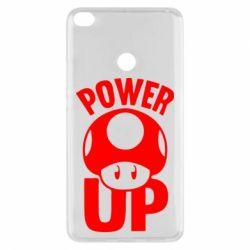 Чехол для Xiaomi Mi Max 2 Power Up гриб Марио