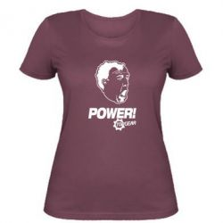 Жіноча футболка Power