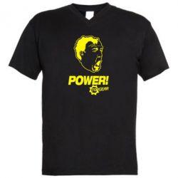 Чоловіча футболка з V-подібним вирізом Power