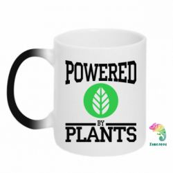 Кружка-хамелеон Powered by plants