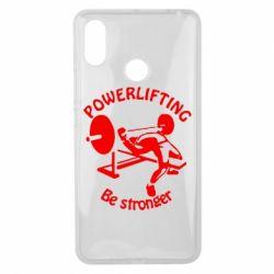 Чехол для Xiaomi Mi Max 3 Powerlifting be Stronger