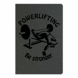 Блокнот А5 Powerlifting be Stronger