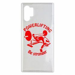 Чехол для Samsung Note 10 Plus Powerlifting be Stronger
