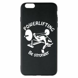 Чехол для iPhone 6 Plus/6S Plus Powerlifting be Stronger