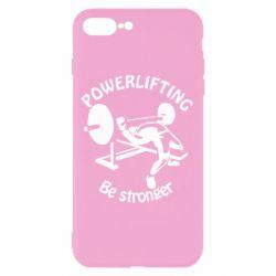 Чехол для iPhone 7 Plus Powerlifting be Stronger