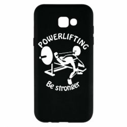 Чехол для Samsung A7 2017 Powerlifting be Stronger