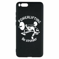 Чехол для Xiaomi Mi Note 3 Powerlifting be Stronger