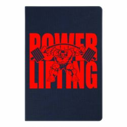Блокнот А5 Powerlifting logo
