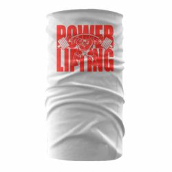Бандана-труба Powerlifting logo