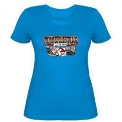 Женская футболка Powerlifting Meet - FatLine
