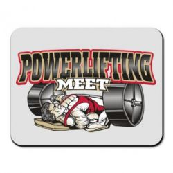 Коврик для мыши Powerlifting Meet - FatLine
